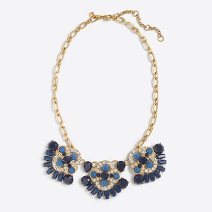 Factory pendant trio necklace
