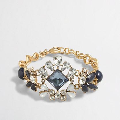 Factory crystal center bracelet