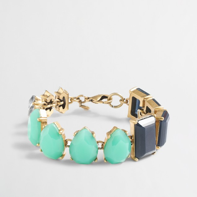 Factory multi-stone bracelet