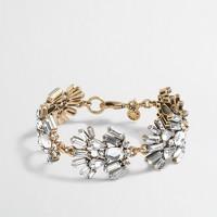 Factory feather link bracelet
