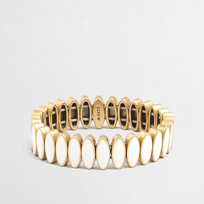 Factory stone seed bracelet