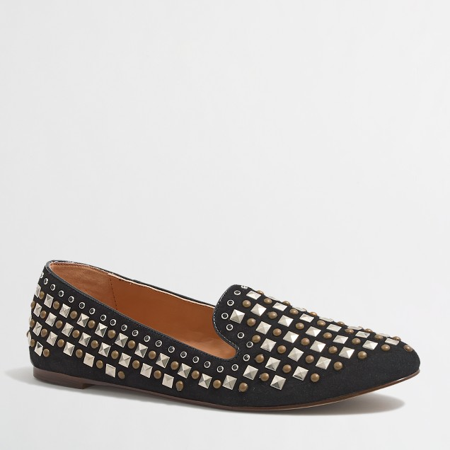Factory Addie beaded loafers
