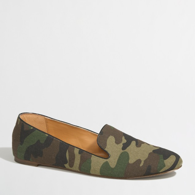 Factory Addie camo loafers