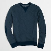 Elbow-patch sweatshirt
