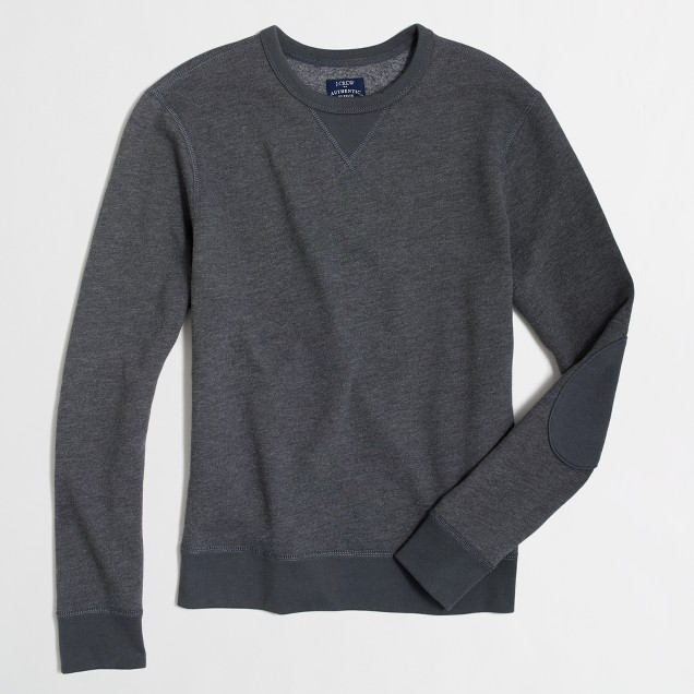 Tall elbow-patch sweatshirt