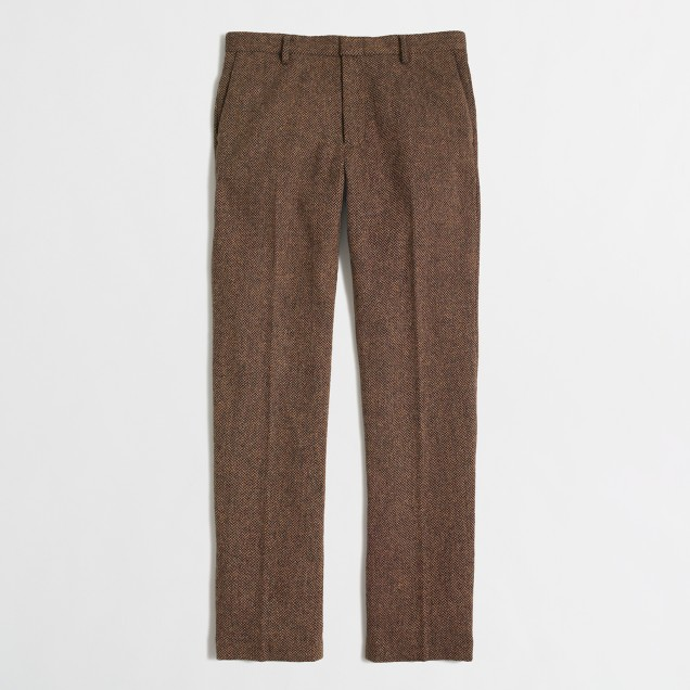 Factory Thompson suit pant in tweed