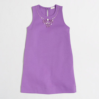 Factory girls' necklace dress