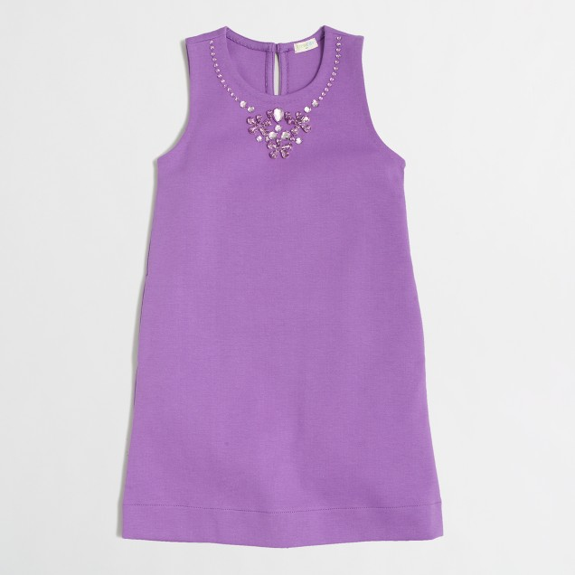 Factory girls' necklace dress