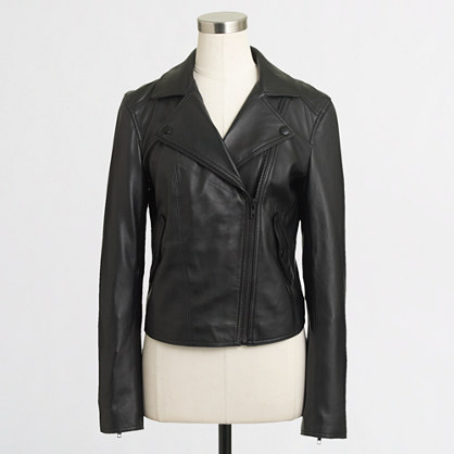 Factory leather jacket
