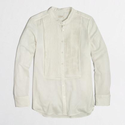 Factory tuxedo blouse