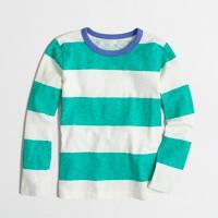Boys' long-sleeve striped T-shirt