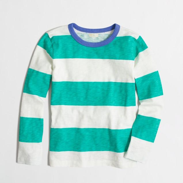 Boys 39 Long Sleeve Striped T Shirt Factoryboys Stripes