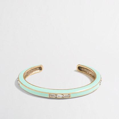 Factory mini neon cuff bracelet