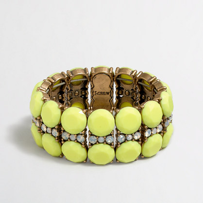 Factory lemon-stripe bracelet