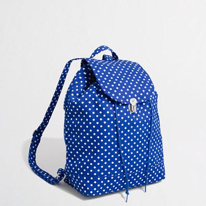BAGGU® polka-dot backpack