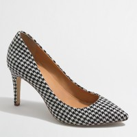 Factory Isabelle houndstooth pumps