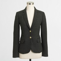 Factory elbow-patch Keating boy blazer in houndstooth