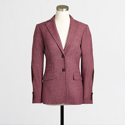 Factory elbow-patch Keating boy blazer in tweed