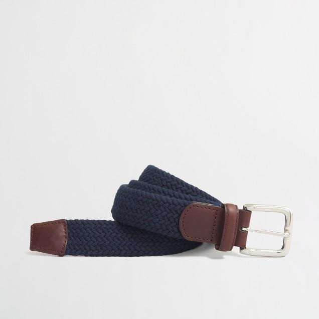 Factory cotton braided belt