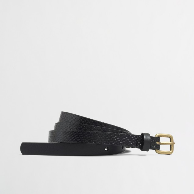 Factory metallic embossed belt