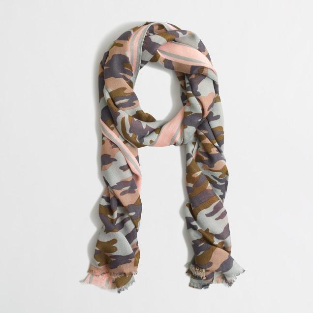 Factory camo scarf