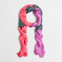 Factory chevron stripe scarf