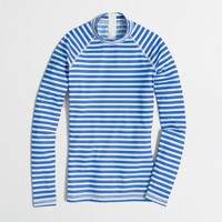 Factory rash guard in sailor stripe