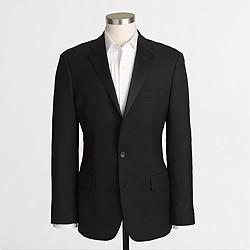 Factory Thompson tuxedo jacket in wool