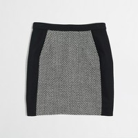 Factory tweed mini with pockets