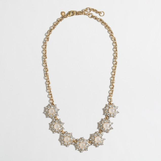 Factory sunburst necklace