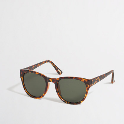 Tortoise-shell sunglasses
