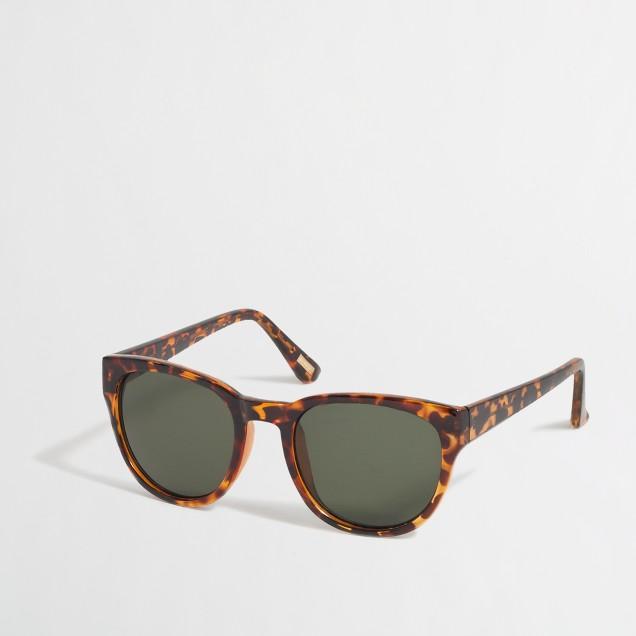Tortoise-shell sunglasses