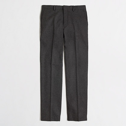 Factory Thompson suit pant in houndstooth