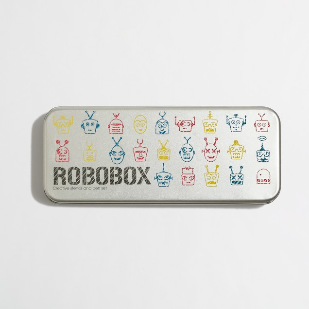 Kids' Natural Products ltd.™ Robobox stencil set