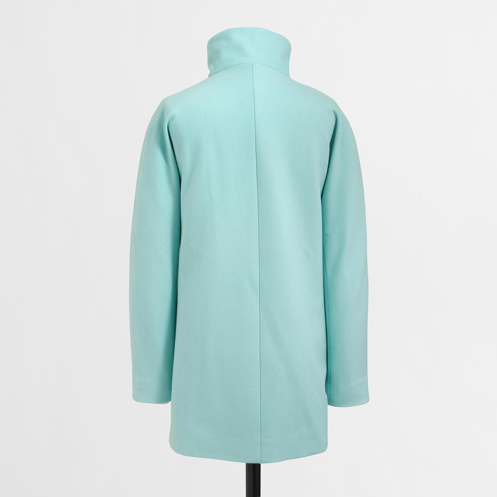 J crew womens green coat