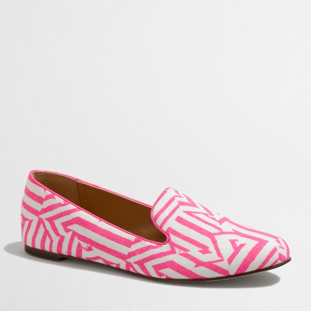 Factory printed Addie loafers
