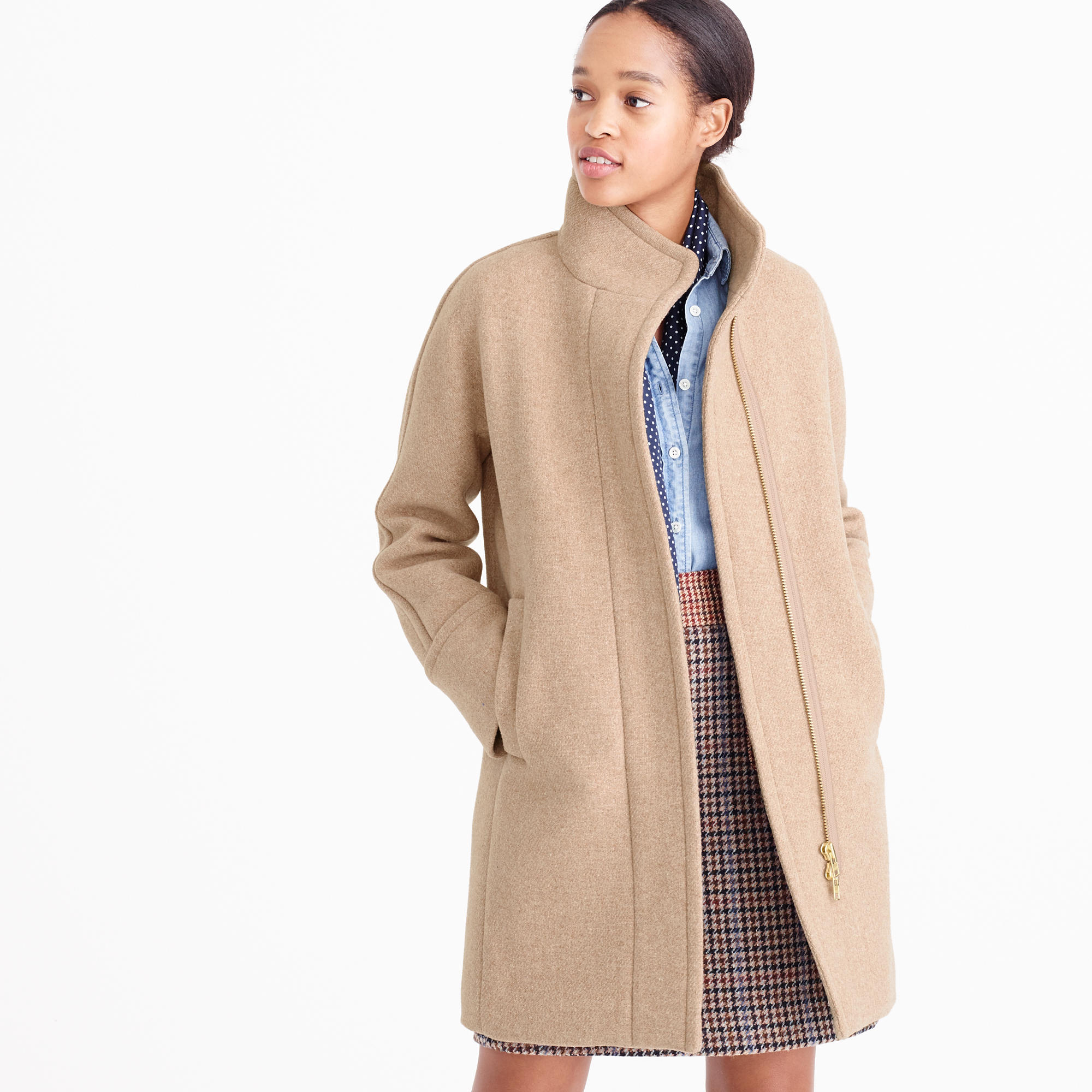 Tall Stadium-Cloth Cocoon Coat : Women's Coats & Jackets | J.Crew