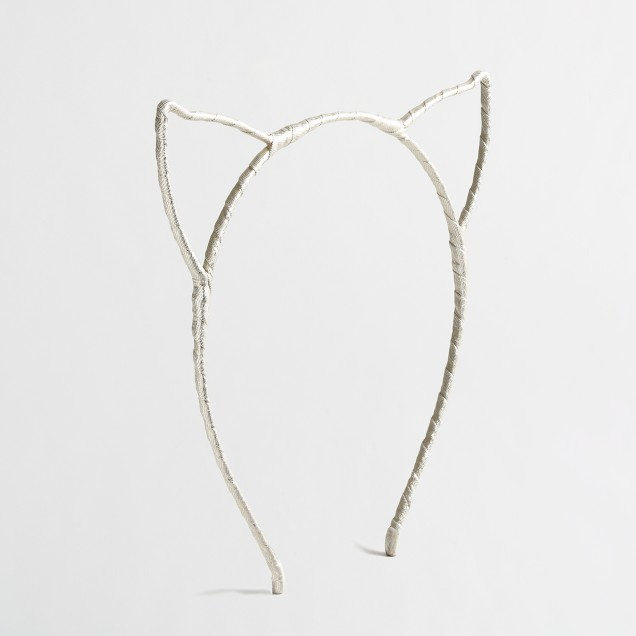 Girls' cat ears headband
