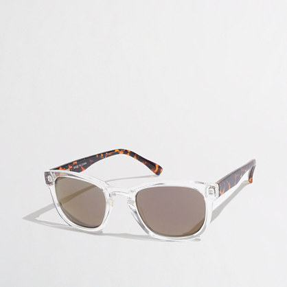 Factory mirror sunglasses