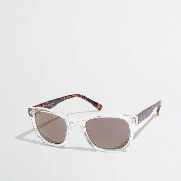 Factory mirror sunglasses