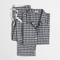 Flannel pajama set