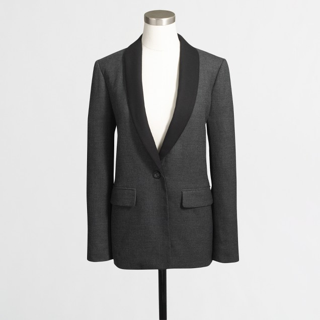 Factory tuxedo blazer