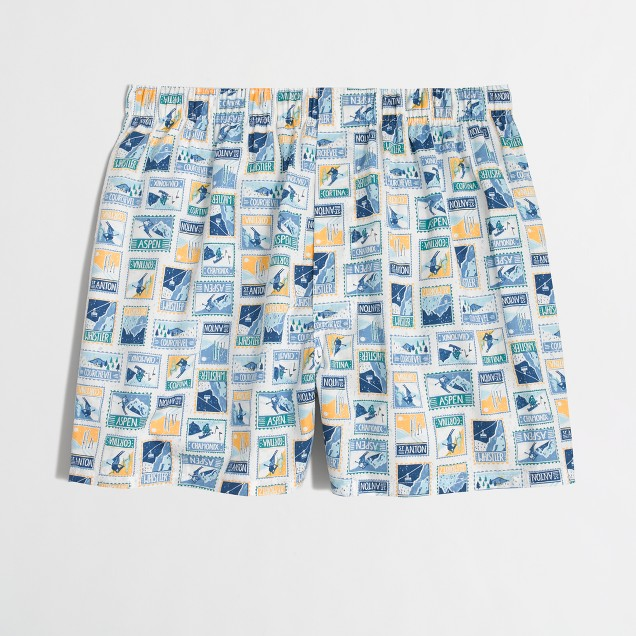 Factory ski stamps boxers