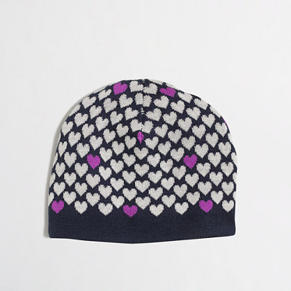Factory girls' heart hat