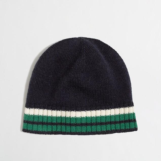 Factory boys' stripe hat