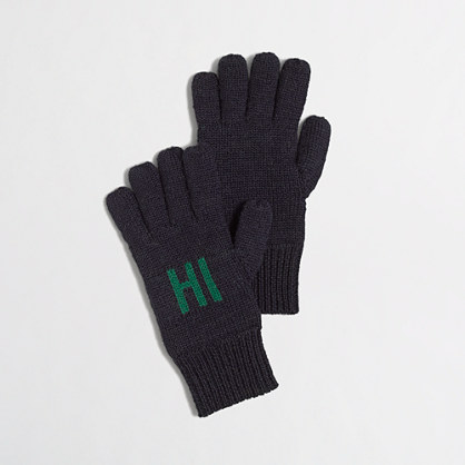 Factory boys' hi and bye gloves