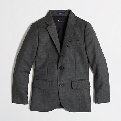 Boys' Thompson suit jacket in worsted wool
