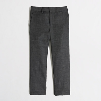 Boys' Thompson suit pant in worsted wool