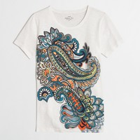 Factory paisley collector tee