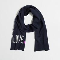 Factory girls' love scarf